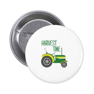 Harvest Time Pinback Button