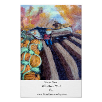 Harvest Time By FibreHeart Poster