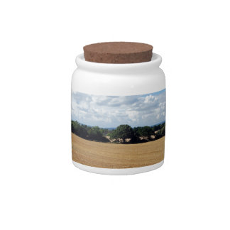 Harvest time candy jar