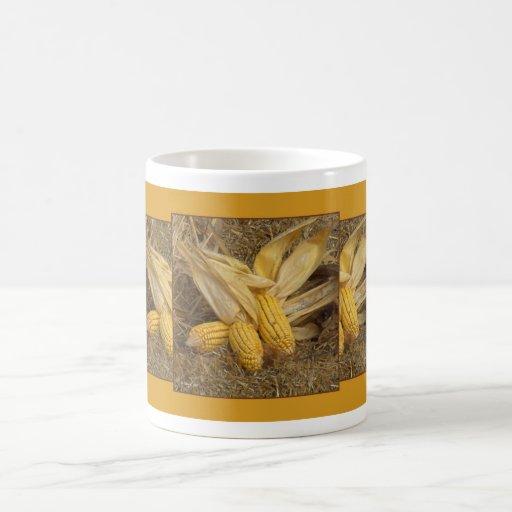 Harvest Time Classic White Coffee Mug