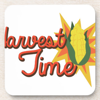 Harvest Time Corn Coaster
