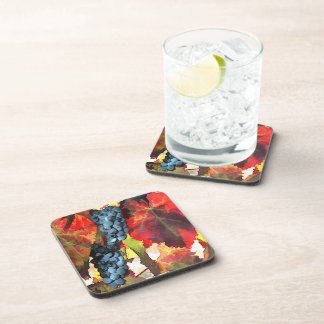 Harvest Time Grapes & Leaves Coaster
