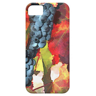 Harvest Time Grapes & Leaves iPhone SE/5/5s Case