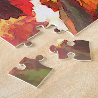 Harvest Time Grapes & Leaves Jigsaw Puzzle