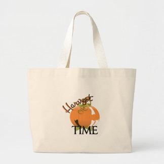 Harvest Time Large Tote Bag