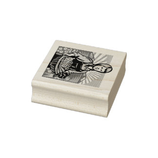 Harvest Time Rubber Stamp