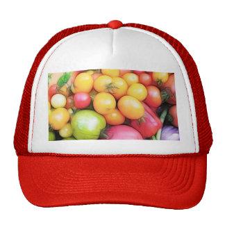 Harvest Time - Tomatoes! Trucker Hat