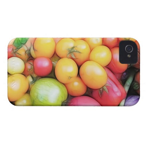 Harvest Time - Tomatoes! iPhone 4 Case-Mate Cases