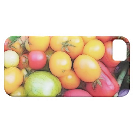 Harvest Time - Tomatoes! iPhone 5 Cover