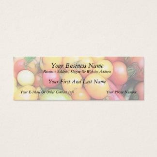 Harvest Time - Tomatoes! Mini Business Card