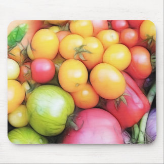 Harvest Time - Tomatoes! Mouse Pad