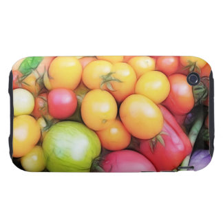 Harvest Time - Tomatoes! Tough iPhone 3 Cover