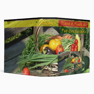 Harvest to Table 3 Ring Binder