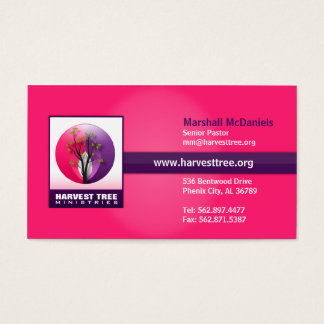 Harvest Tree Religious Business Card