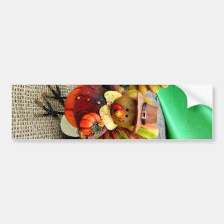 Harvest Turkey Bumper Sticker