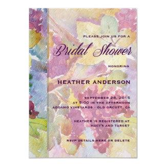 HARVEST Vineyard Bridal Shower Invitation