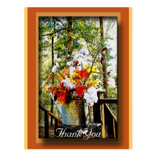 Harvest Watering Can Postcard