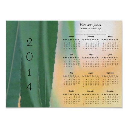 Harvest Willow Custom Business Wall Calendar Posters