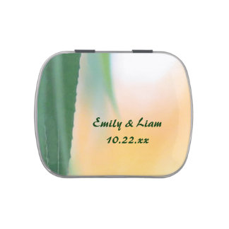 Harvest Willow Personalized Jelly Belly Candy Tin