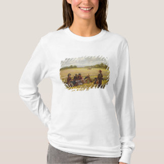 Harvesters resting in the Sun, Berkshire, 1865 T-Shirt