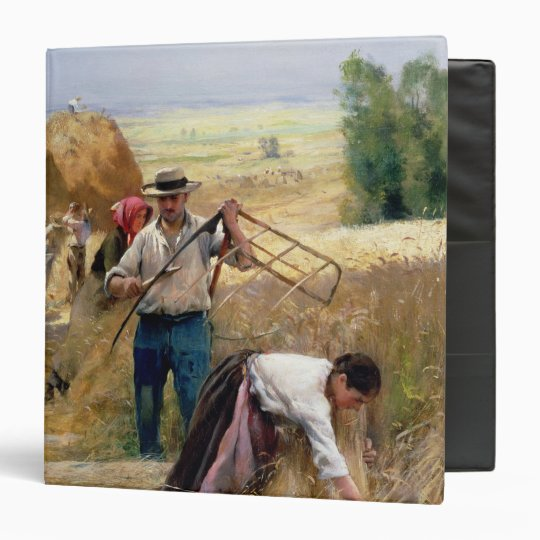 Harvesting 3 Ring Binder