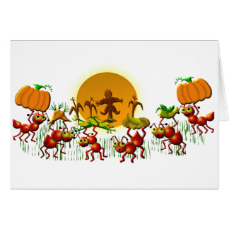 harvesting ants card