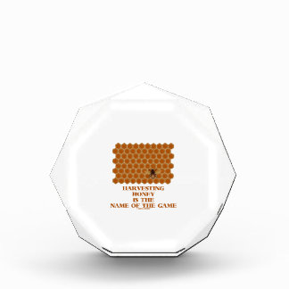 Harvesting Honey Is The Name Of The Game Award
