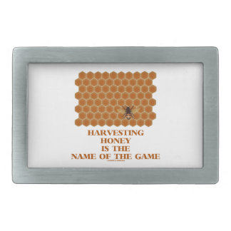 Harvesting Honey Is The Name Of The Game Belt Buckle