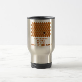 Harvesting Honey Is The Name Of The Game Mugs