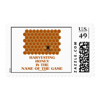 Harvesting Honey Is The Name Of The Game Postage