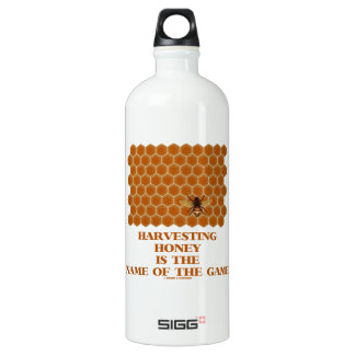 Harvesting Honey Is The Name Of The Game SIGG Traveler 1.0L Water Bottle