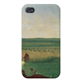 Harvesting in Summer, 1820s Cover For iPhone 4