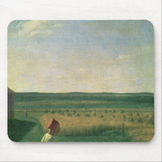 Harvesting in Summer, 1820s Mouse Pad
