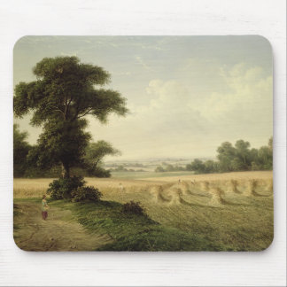 Harvesting (oil on canvas) mouse pad