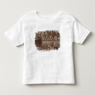 Harvesting papyrus and a group of cows toddler t-shirt