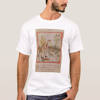 Harvesting Parsnips from 'Tacuinum Sanitatis' T-Shirt