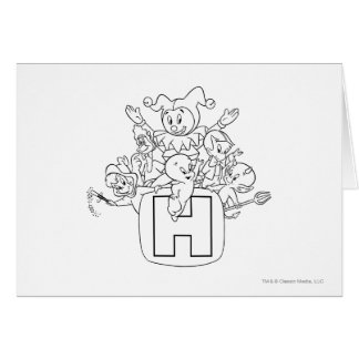 Harvey and Friends 1 Greeting Card