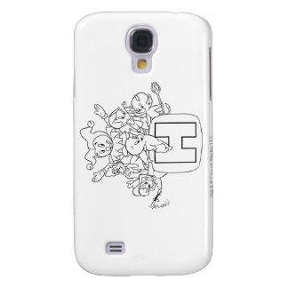 Harvey and Friends 1 Galaxy S4 Case