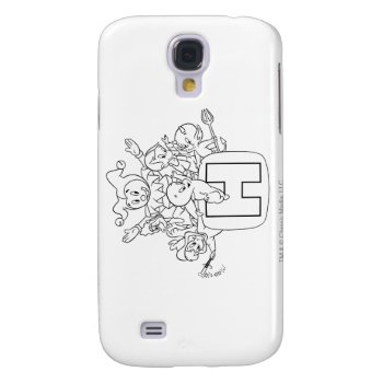 Harvey And Friends 1 Galaxy S4 Case by casper at Zazzle