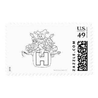 Harvey and Friends 1 Postage Stamps