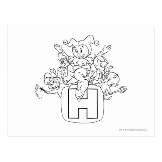 Harvey and Friends 1 Postcard