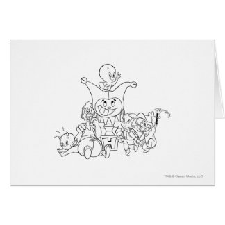 Harvey and Friends 2 Greeting Card