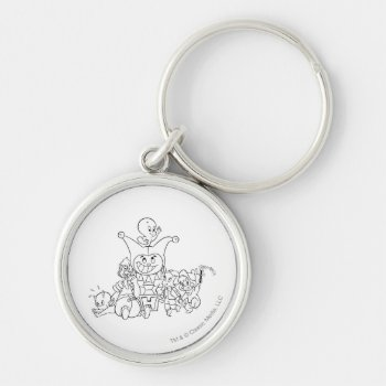 Harvey And Friends 2 Keychain by casper at Zazzle