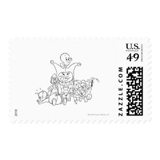 Harvey and Friends 2 Postage Stamp