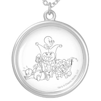 Harvey and Friends 2 Silver Plated Necklace
