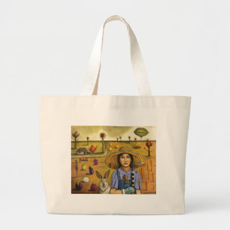 Harvey and the Eccentric Farmer Large Tote Bag
