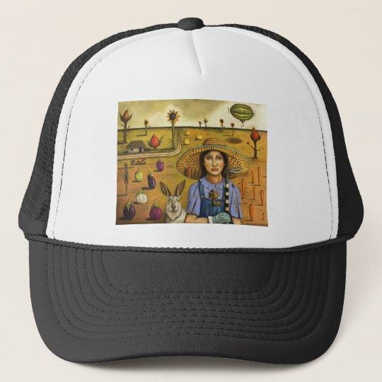 Harvey and the Eccentric Farmer Trucker Hat