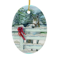 Harvey Ceramic Ornament