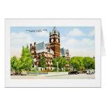 Harvey County Court House, Newton, Kansas Card