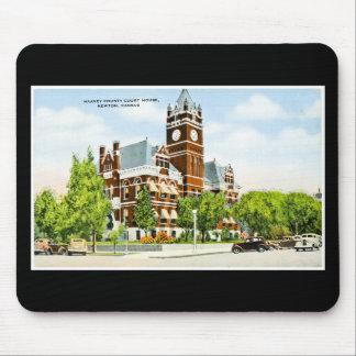 Harvey County Court House, Newton, Kansas Mouse Pad